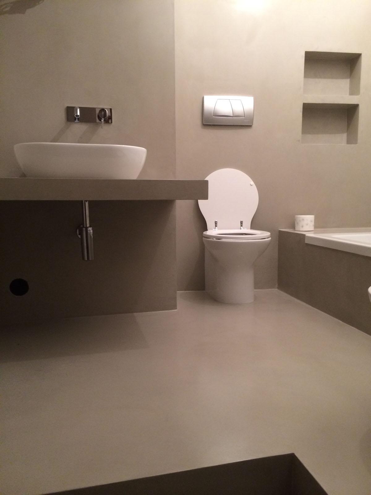 La casa del colore rivestimenti in microcemento 15 - La casa del bagno ...